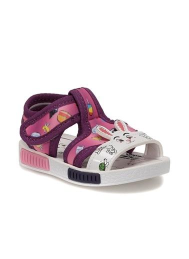 Polaris 512498.B Kız Çocuk Sandalet Mor